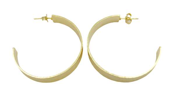 Hoop No. 10 Small Gold Band