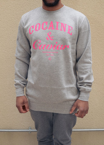 Crooks & Casltes Cocaine Caviar - Crew Neck Sweat Shirt