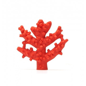 Sensory teething toy coral