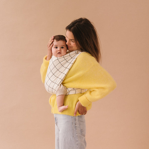 Baby carrier geometric