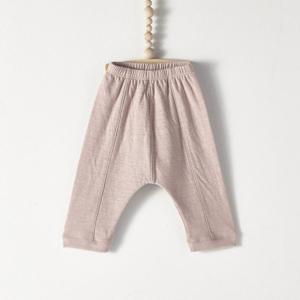 Double knit trousers blush