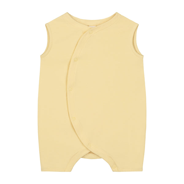 Baby grow with snaps mellow yellow