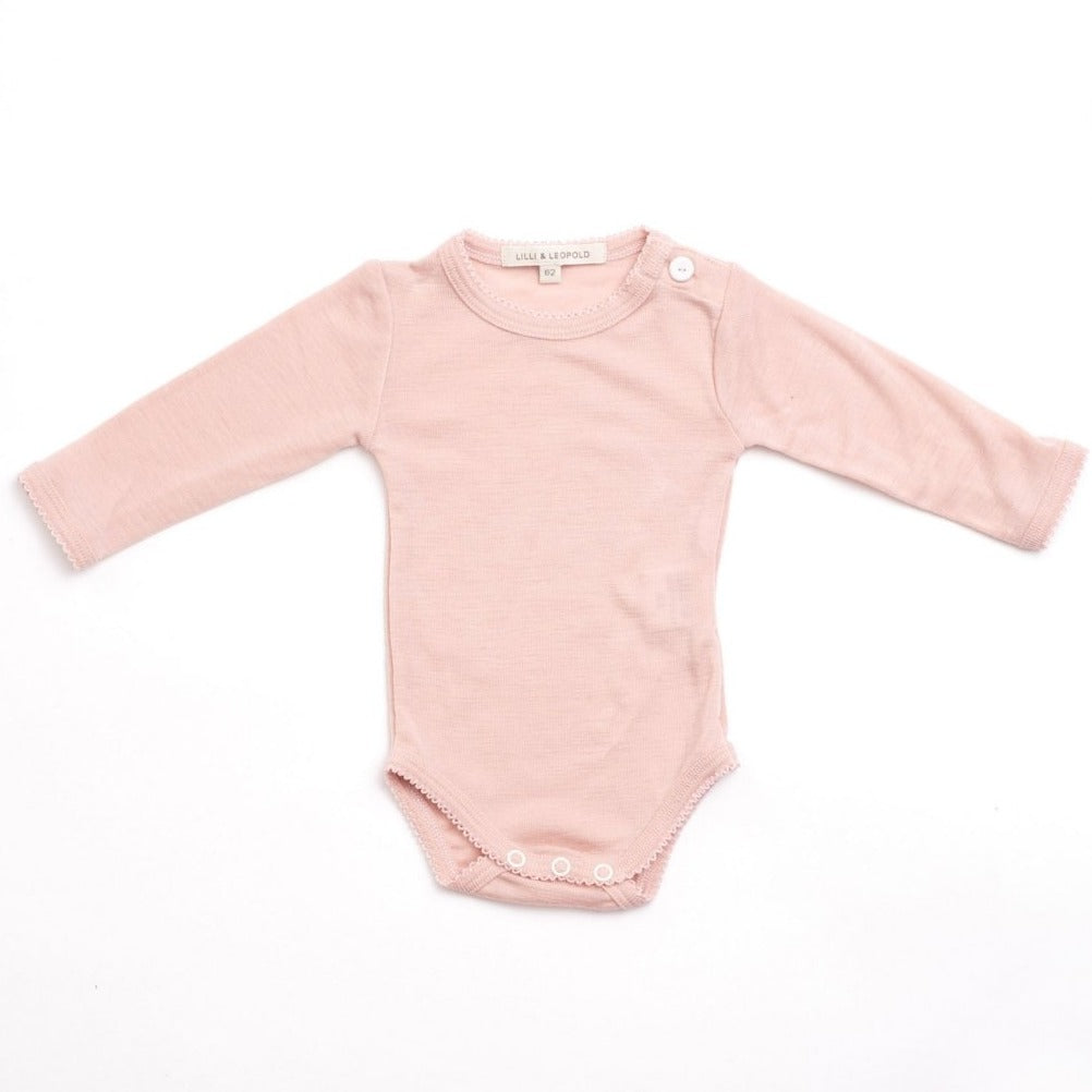 Body merino dusty pink