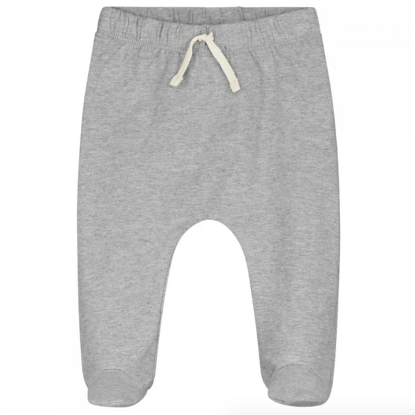 Footies grey melange