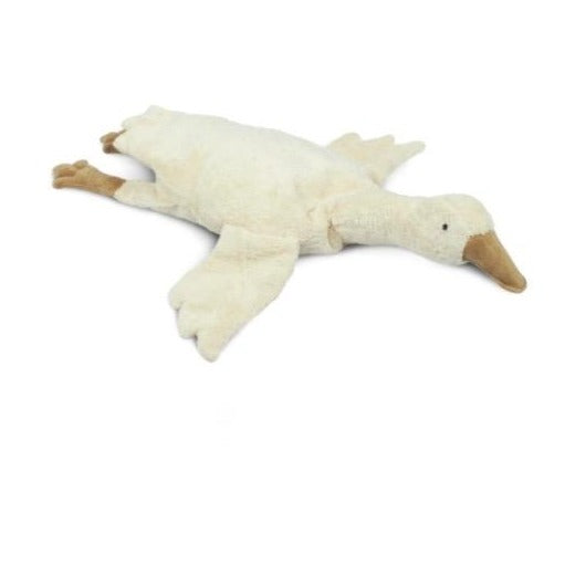 Cuddly goose white (spelt chaff pillow) large