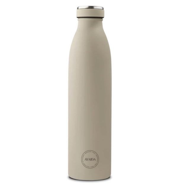 Drinking bottle 750 ml cream beige