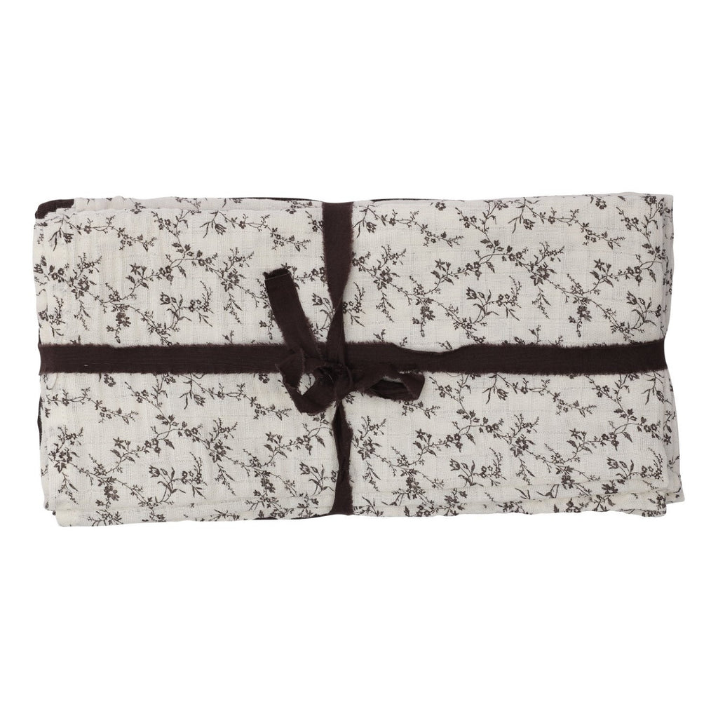 Small swaddles flower field (set of 4)