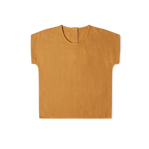 Arlo t-shirt rust