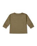 Basic set longsleeve tee & legging olive