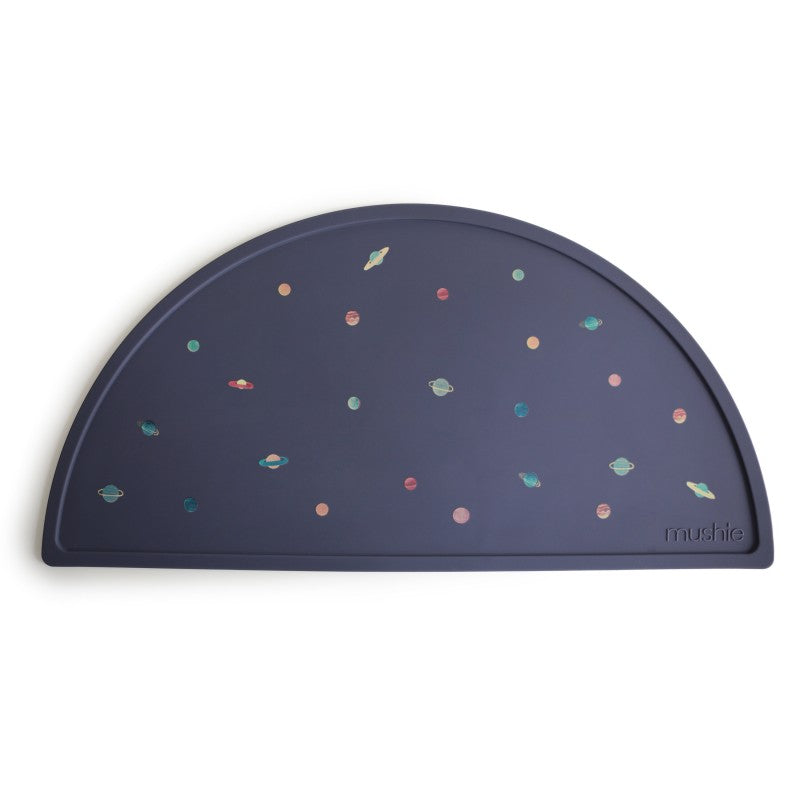 Silicone placemat planets