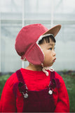 Wintercap robin cranberry