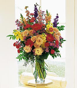 Colorful Flower Arrangement | K&M Flowers | Dearborn, Mi