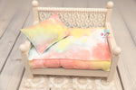 PRE-ORDER- REVERSIBLE 2 Color Spring Tye Dye- NB Mattress