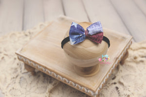 Baby Bow Headband- Made To Order- Patriotic Baby