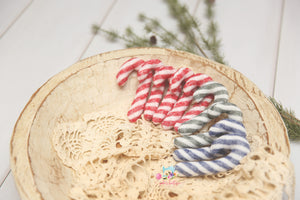 Candy Cane Lovies- MADE TO ORDER