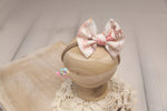 Christmas Baby Bow Headband- Made To Order- Dainty Deer