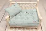 PRE-ORDER- REVERSIBLE (Size- 11x14) Two Color Gold BUTTERFLY NB Mattress