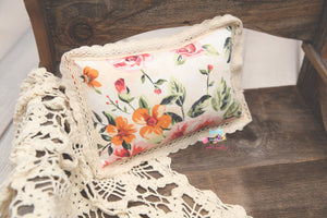 Newborn Pillow- *Summer's Dream*- MADE TO ORDER