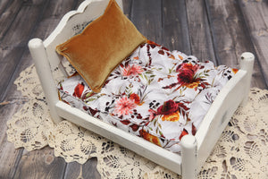 PRE-ORDER- REVERSIBLE Patchwork Fall- NB Mattress