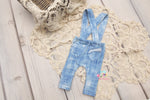 NEW Greyson Newborn Faux Denim Suspenders- MADE TO ORDER