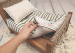 PRE-ORDER- REVERSIBLE 2 Color Christmas Sprinkles & Stripes- NB Mattress