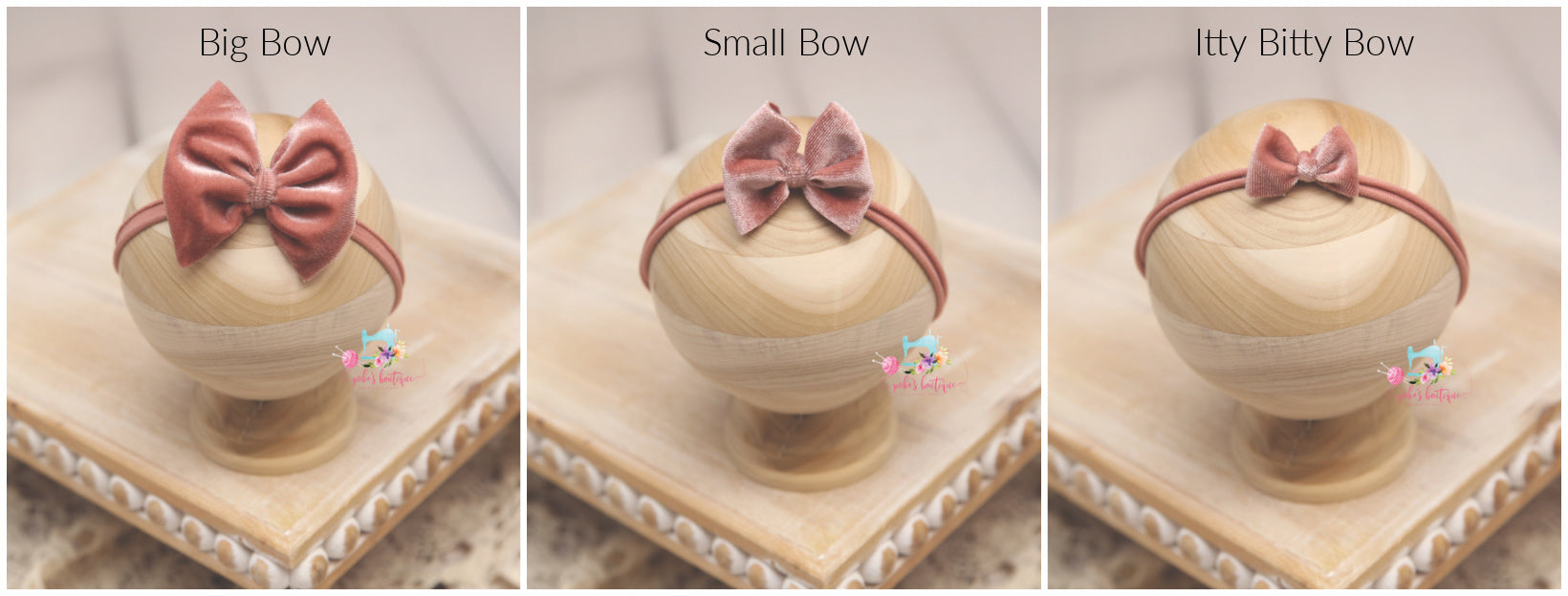 Baby Bow Headband- Made To Order- Fall Floral