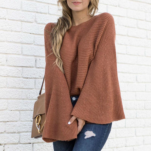 Long Sleeve Knitwear Sweater