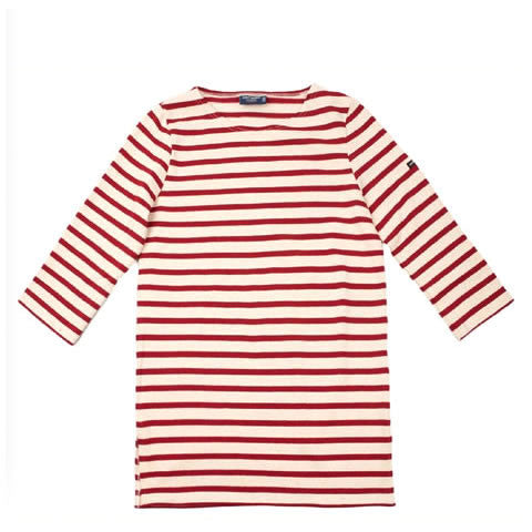 Saint James - Merifar shirt 1190 - ecru and persan stripes