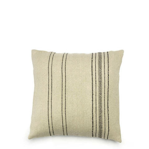 Libeco - Belgian linen & wool Moroccan stripes pillow - 120057, 5411502370396