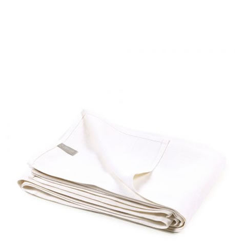 Libeco - Napoli Vintage Belgian linen blanket in optic white
