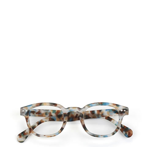 Izipizi - French readers / reading glasses, style #C, blue tortoise