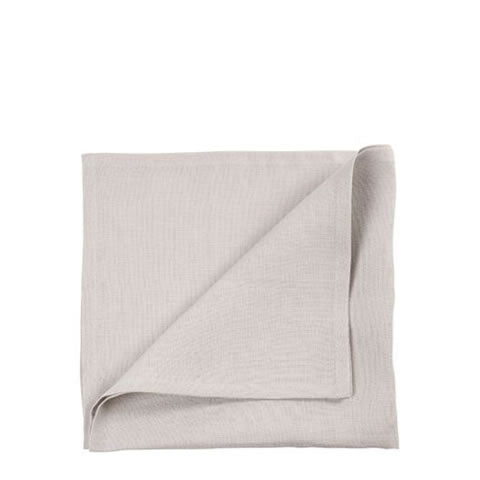 Libeco Belgian linen - Vence everyday napkin in light grey