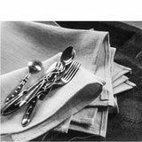 Libeco - Napoli Vintage linen napkins in natural with silverware