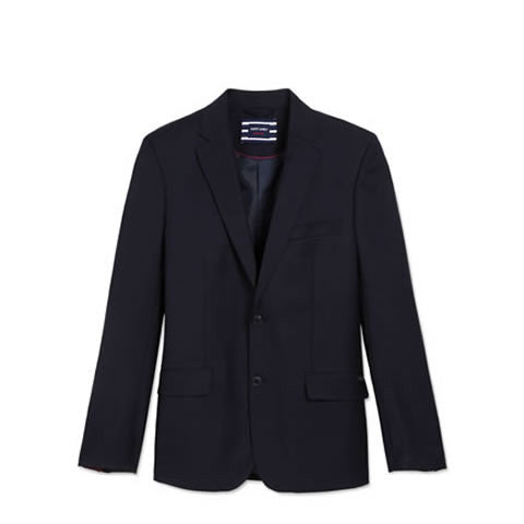 Saint James - classic St Cyr wool navy blue blazer, 2179-CC