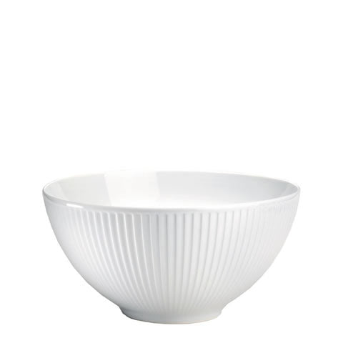 Pillivuyt French white porcelain - large Plisse serving bowl, 174225BL, 871638009457