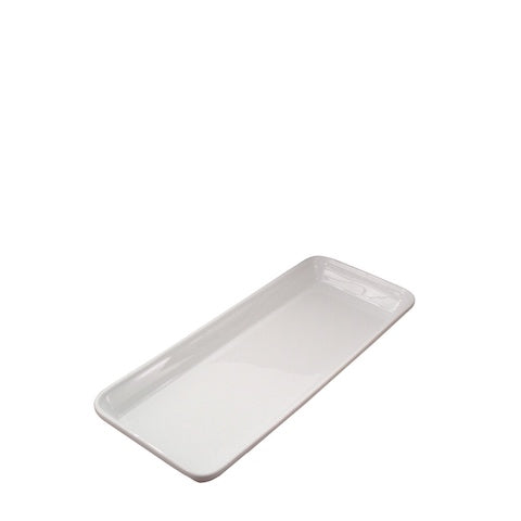 Pillivuyt porcelain - French stacking caterer's presentation tray / platter, 221539BL, 871638003592