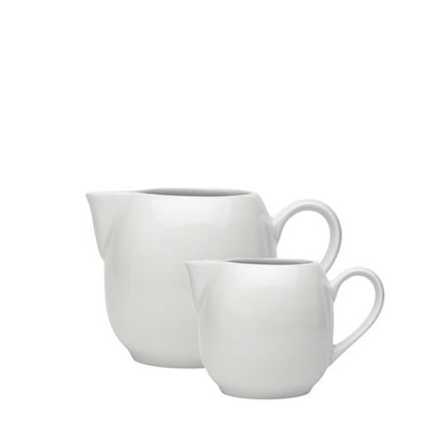 Pillivuyt French white porcelain - Sancerre pitcher / creamer, 362215BL, 871638002373, 362235BL, 871638002380