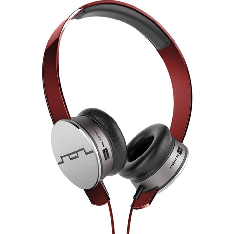 Sol Republic Tracks HD On-Ear Headphones (Red) (1241-03)