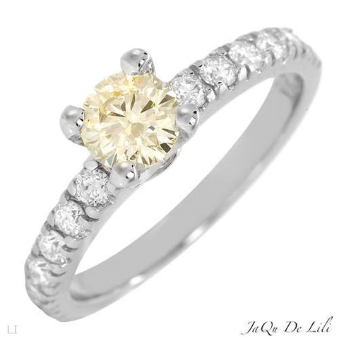 Engagement Ring With 1.0ctw Diamonds  Size AU- N US - 6.5