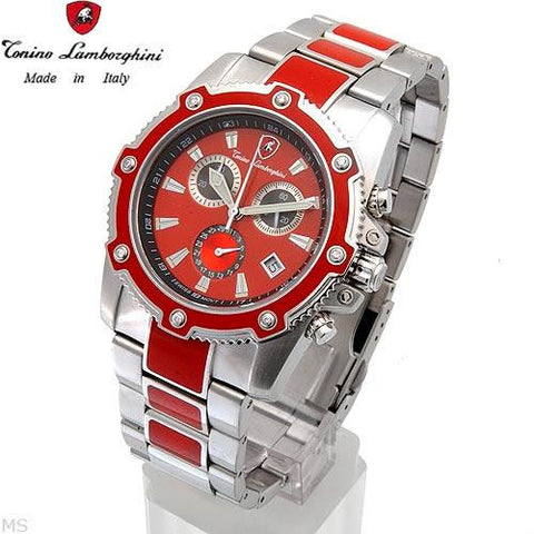 Tonino Lamborghini Watch Orange