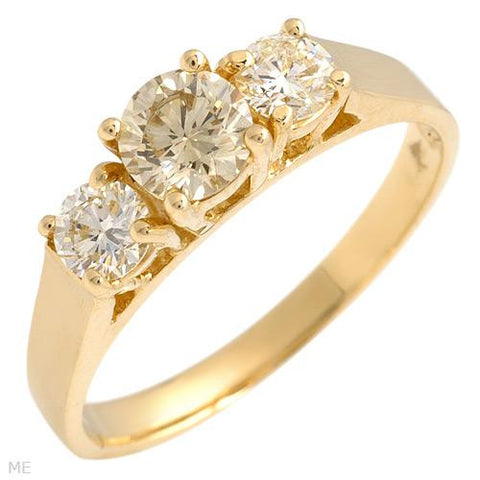 Engagement Ring With 0.80ctw Diamonds Size AU- M US - 6