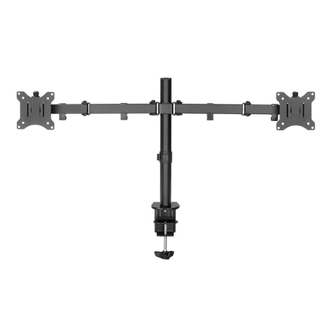 "Amer Mounts 2EZCLAMP | Easy Clamp Dual Monitor Mount | Supports 17"" - 32"" Monitors"
