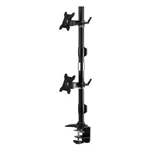 Dual Vertical Monitor Mount Clamp-24″ - AMR2CV