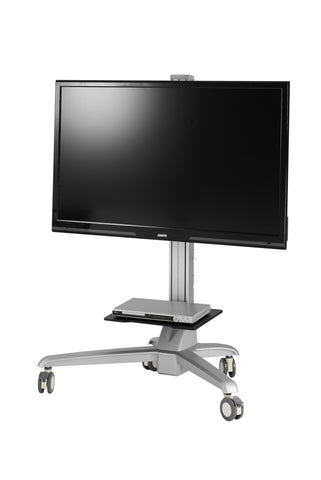 Mobile Media Conference Computer / TV Display Cart