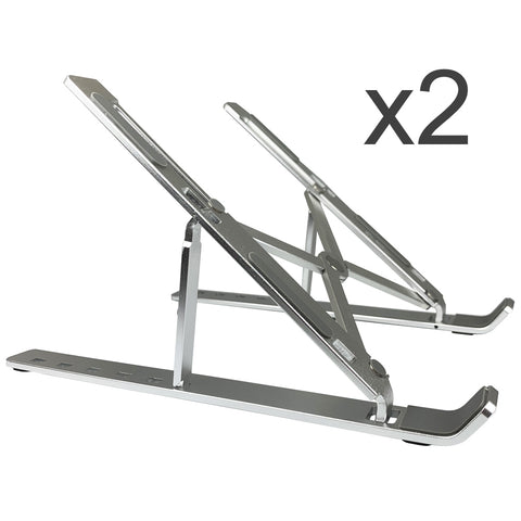 Folding Travel Laptop Tablet Stand (2 PACK) | Amer Mounts AMRNS02