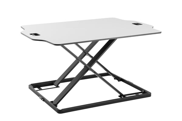 "Amer Mounts  EZUP SURFACE (3222) | Ultra Slim Height Adjustable Standing Desk | 32"" wide"