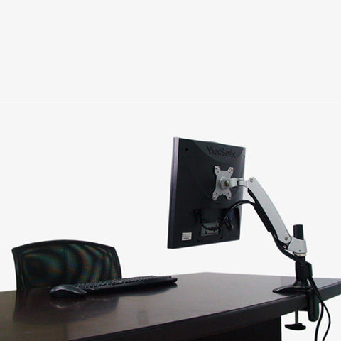Articulating single monitor mount