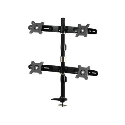 Quad Monitor Pole Mount - AMR4P