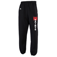 TEU - PANTS - Russell Fleece - Closed or Open Bottom - (w/pockets) Black or Grey - ADULT