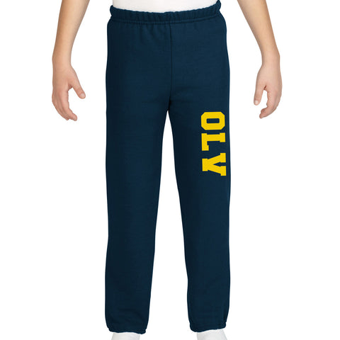 OLV - PANTS - Gildan Fleece - Open & Closed Bottom - YOUTH